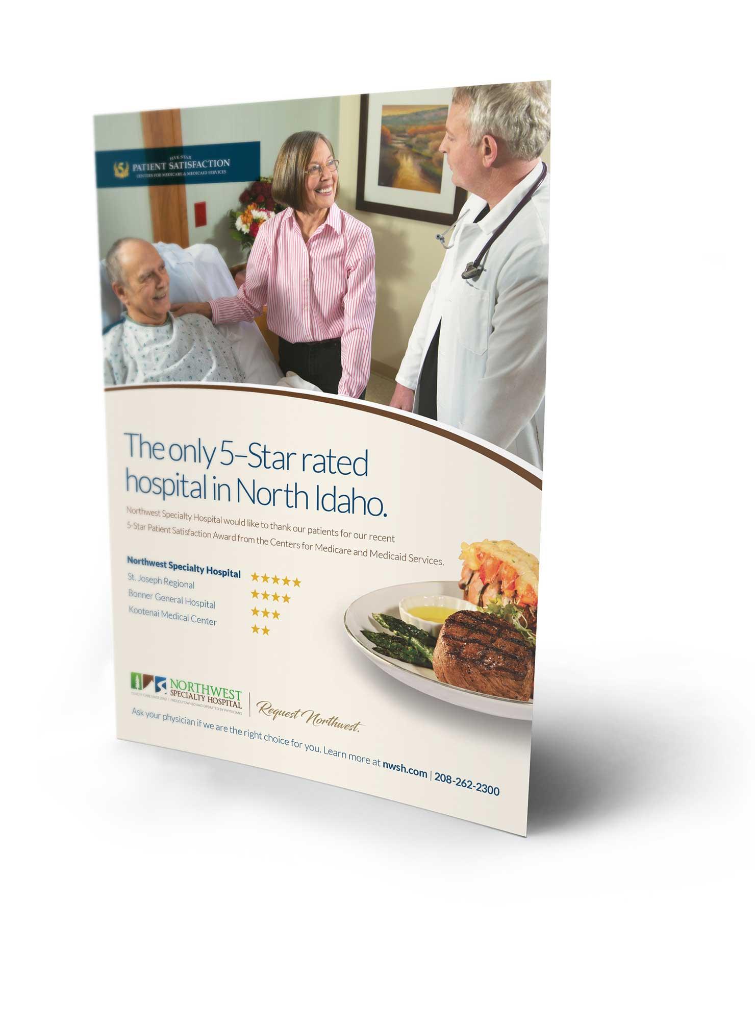 Northwest Specialty Hospital Web Design and Development
