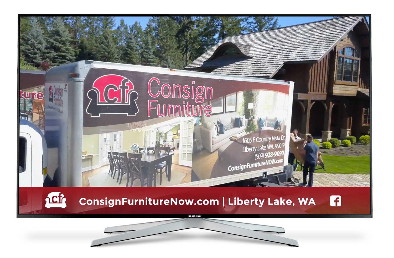 Consign Furniture Tv Web Brand It Advertising Spokane Wa