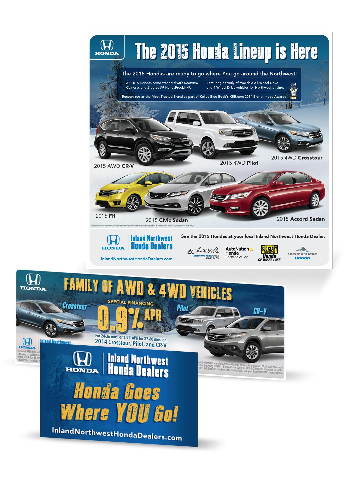Honda Dealer Advertising